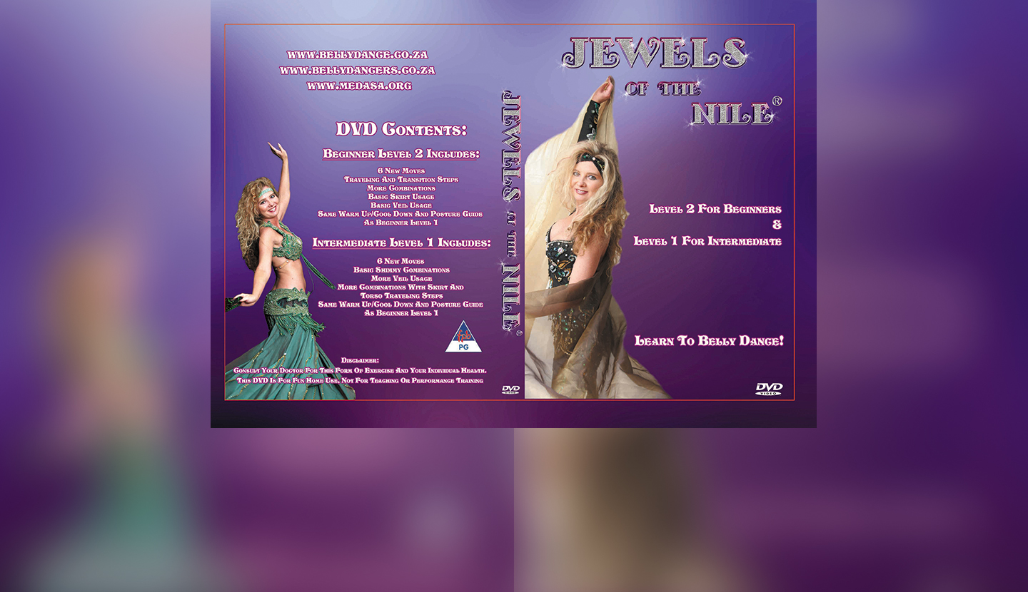 Easy learning of this sensual art form especially for you, in the comfort of your home, Move by Move with SA's Award winning and most reknown Belly Dancing Performer and Instructor